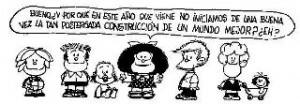 Caricatura de Quino, Feliz 2012