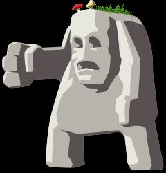 Gigante-de-piedra-Dibujo-Sin-Copyright