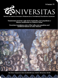 Portada Universitas n° 31
