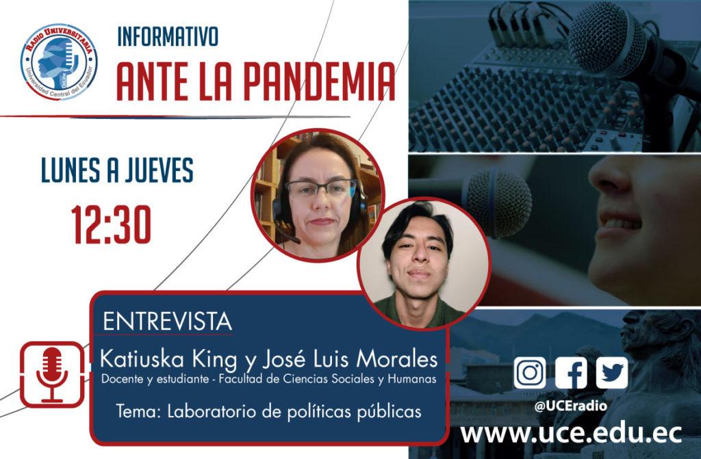 entrevistas de radio 2021 katiuska king y josé luis morales